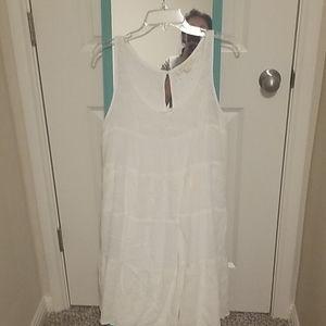 White lovestitch dress-M
